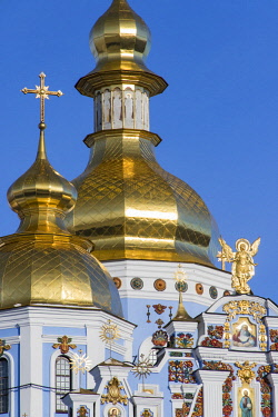 AS43WSU0074 Detailed view of St. Michael's Golden-Domed Monastery, Kiev.