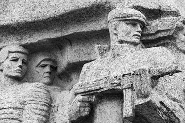 AS43WSU0097 Monument to Partisan Resistance in World War II, Odessa, Ukraine.