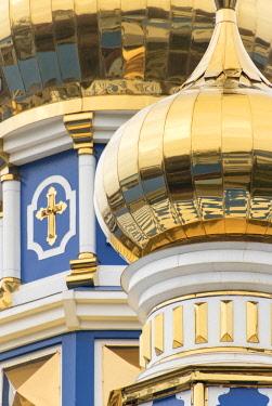 AS43WSU0125 Dome detail, Russian Orthodox church, Odessa, Ukraine.