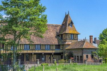 EU09JEN0142 Mayor's house, Beuvron en Auge, Normandy, France