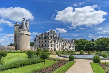 EU09JEN0260 Chateau de Chenonceau, Chenonceaux, France