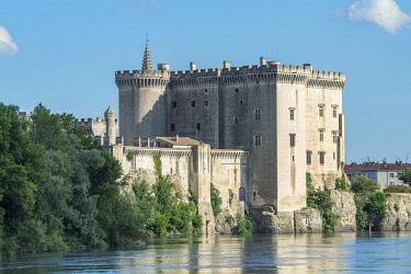 EU09JEN0452 Tarascon Castle, Tarascon, Provence, France