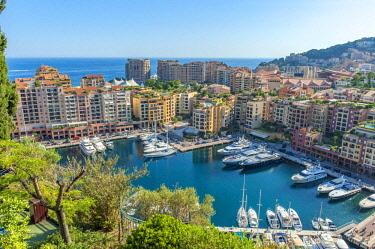 EU19LEN0003 Marina, Port de Fontvieille, Fontvieille, Monaco, Cote d'Azur
