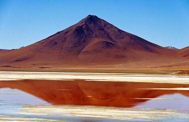 SA03AAS0051 Spectacular view of Laguna Colorada, Reserva Eduardo Avaroa, Bolivian desert, Bolivia