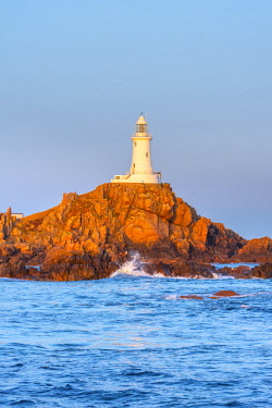 UK677RF United Kingdom, Channel Islands, Jersey, Corbiere Lighthouse