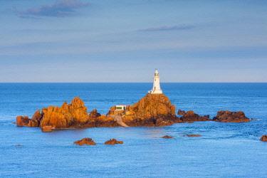 UK678RF United Kingdom, Channel Islands, Jersey, Corbiere Lighthouse