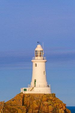 UK683RF United Kingdom, Channel Islands, Jersey, Corbiere Lighthouse