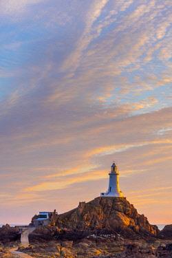 UK688RF United Kingdom, Channel Islands, Jersey, Corbiere Lighthouse