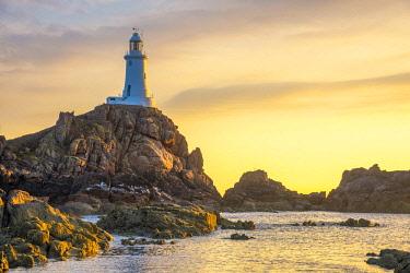 UK691RF United Kingdom, Channel Islands, Jersey, Corbiere Lighthouse