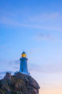 UK693RF United Kingdom, Channel Islands, Jersey, Corbiere Lighthouse