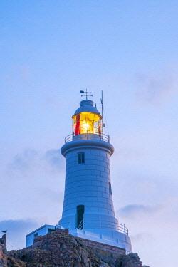 UK694RF United Kingdom, Channel Islands, Jersey, Corbiere Lighthouse