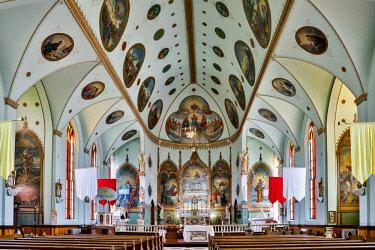 US27HLL0044 Usa, Montana, St. Ignatius, St. Ignatius Mission