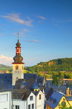 GER11086AW St Jacobs Church, Rudesheim, Rhineland-Palatinate, Germany