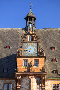 GER11177AW Rathaus (Town Hall), Marburg, Hesse, Germany