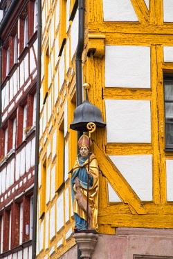 GER11253AW Weissergerbergasse Street, Nuremberg, Bavaria, Germany