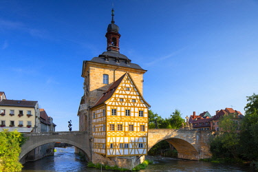 GER11287AW Altes Rathaus (Old Town Hall), Bamberg (UNESCO World Heritage Site), Bavaria, Germany