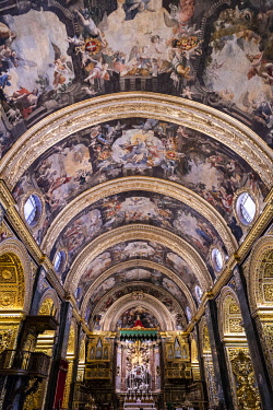 MT01130 Malta, Malta, Valletta, St John's Co-Cathedral