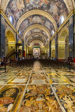 MT01135 Malta, Malta, Valletta, St John's Co-Cathedral