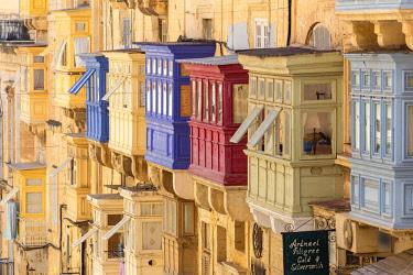 MT015RF Malta, Malta, Valletta, Republic Street