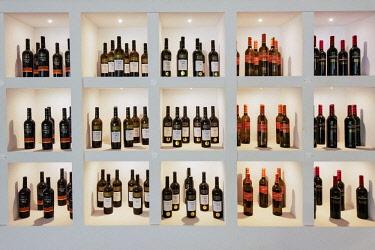 POR9964AW Exhibition of wines. Ermelinda Freitas winery, Fernando Po. Palmela, Portugal