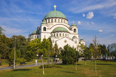 SB01110 Serbia, Belgrade, St Sava Temple - The largest orthodox cathedral in the world