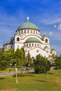 SB01111 Serbia, Belgrade, St Sava Temple - The largest orthodox cathedral in the world