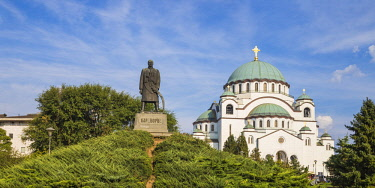 SB01112 Serbia, Belgrade, St Sava Temple - The largest orthodox cathedral in the world