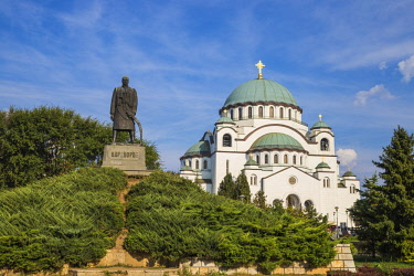SB01113 Serbia, Belgrade, St Sava Temple - The largest orthodox cathedral in the world