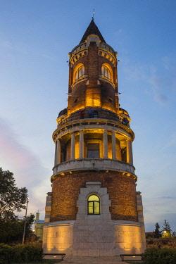 SB01114 Serbia, Belgrade, Zemun, Gardos Tower, also known as the Millennium Tower