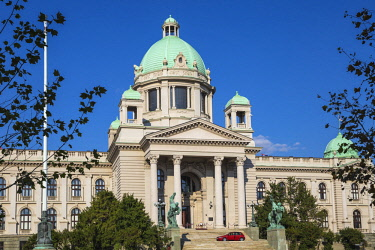 SB01128 Serbia, Belgrade, National Assembly