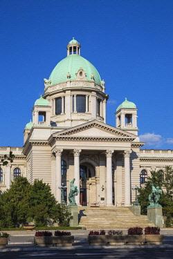 SB01129 Serbia, Belgrade, National Assembly