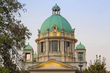 SB01130 Serbia, Belgrade, National Assembly