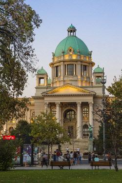 SB01131 Serbia, Belgrade, National Assembly