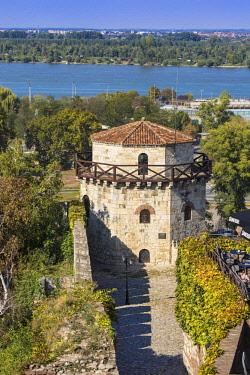 SB01138 Serbia, Belgrade, Kalemegdan Park, Belgrade Fortress,  Jaksic's Tower