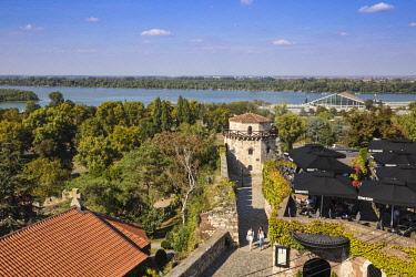 SB01139 Serbia, Belgrade, Kalemegdan Park, Belgrade Fortress,  Jaksic's Tower