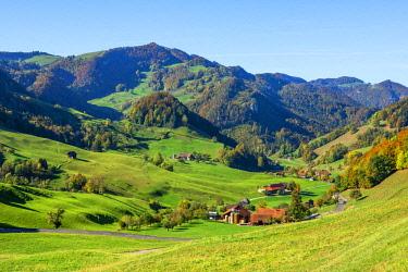 SWI8243AWRF Jura mountains from Passwang pass, Solothurn, Switzerland