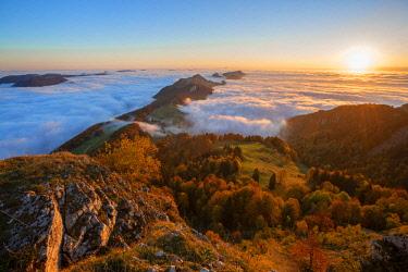 SWI8143AW Morning view from Weissenstein, Solothurn, Switzerland