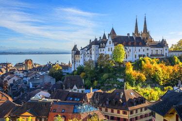 SWI8171AW Castle of Neuchatel, Switzerland