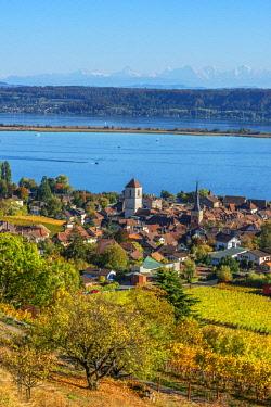 SWI8207AW La Neuveville and Lake Biel, Bern, Switzerland