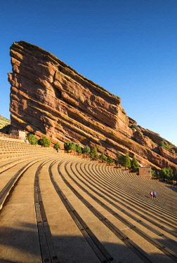 US13319 USA, Colorado, Red Rock Amphitheater, Red Rock Park, Morrison,
