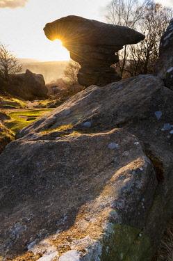 ENG15891 England, Yorkshire Dales, Nidderdale, Brimham Rocks