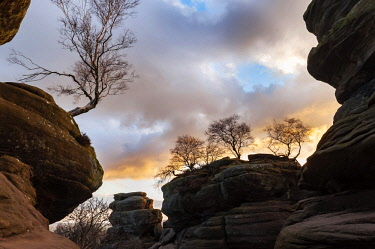 ENG15896 England, Yorkshire Dales, Nidderdale, Brimham Rocks