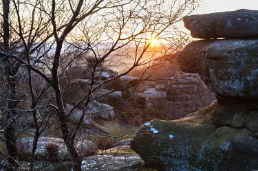 ENG15898 England, Yorkshire Dales, Nidderdale, Brimham Rocks