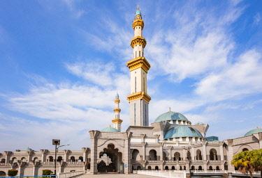 MAY0291AW Federal Territory Mosque (Malay: Masjid Wilayah Persekutuan), Kuala Lumpur, Malaysia