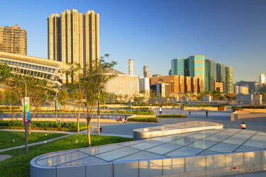 CH11743AW West Kowloon High Speed Rail Station and plaza, Kowloon, Hong Kong