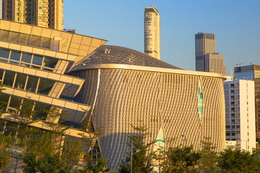 CH11744AW West Kowloon High Speed Rail Station and Xiqu Centre, Kowloon, Hong Kong