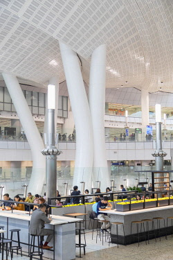 CH11755AW Interior of High Speed Rail Station, West Kowloon, Kowloon, Hong Kong