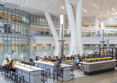 CH11756AW Interior of High Speed Rail Station, West Kowloon, Kowloon, Hong Kong