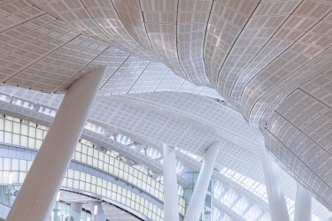 CH11759AW Interior of High Speed Rail Station, West Kowloon, Kowloon, Hong Kong