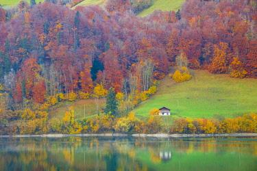 CH116RF Lake Lungern, Obwalden, Switzerland